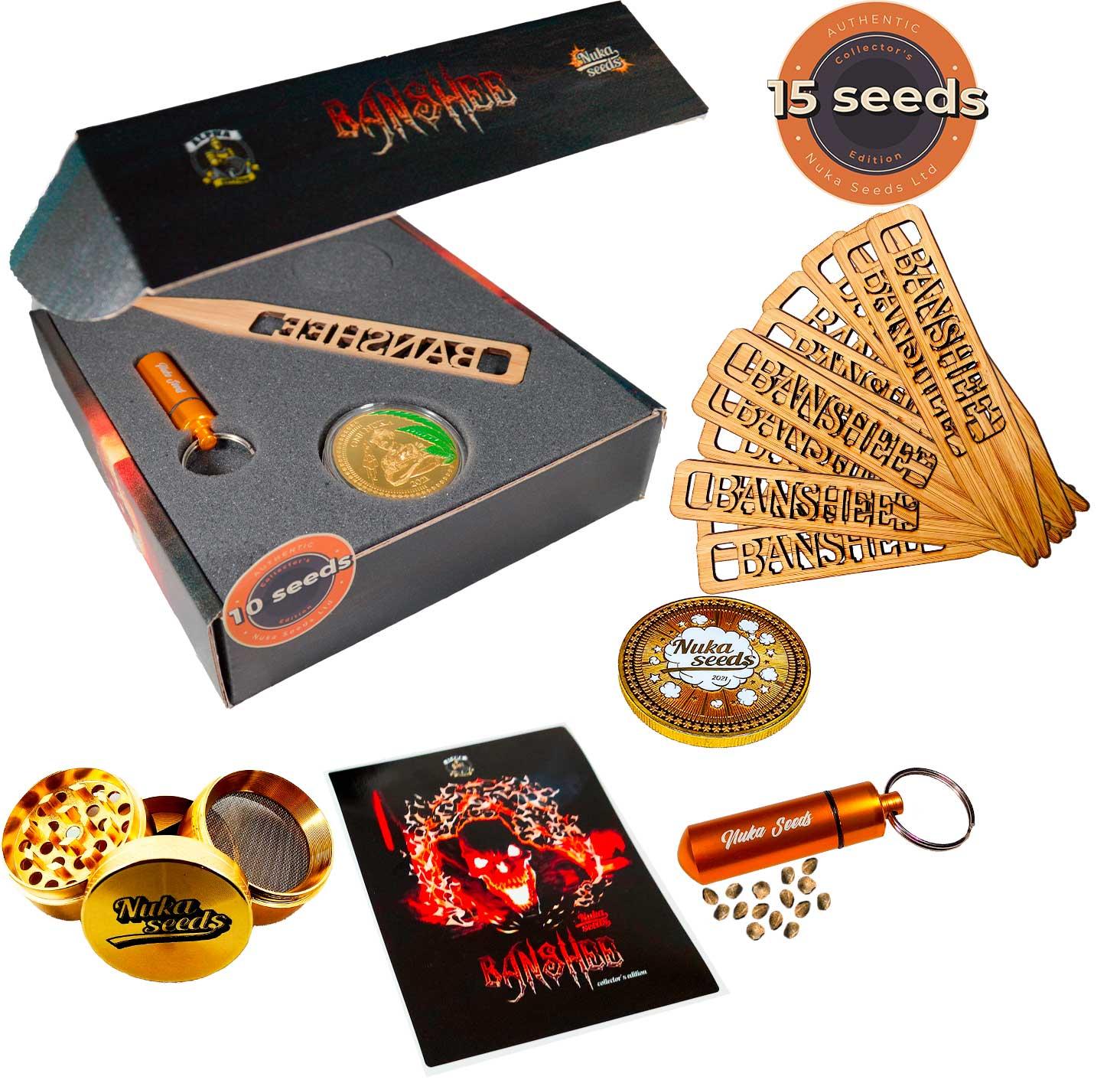 Cannabis seeds Banshee Nuka seeds