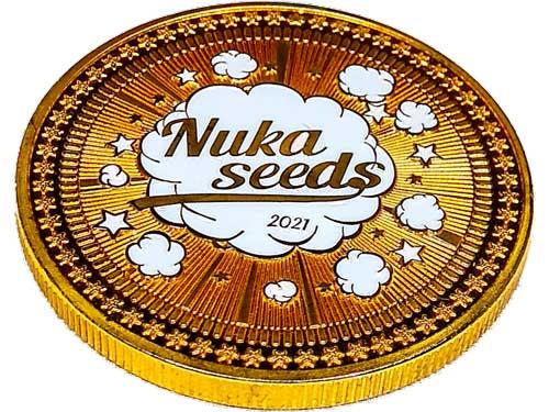 Nuka seeds coin
