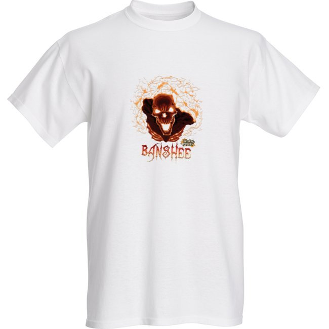 """Featured image for """"Banshee cannabis strain T-shirt"""""""