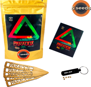 Paradox cannabis seeds doypack 5pc