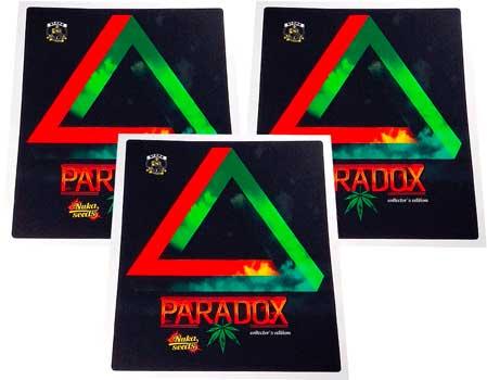 Paradox cannabis seeds stickers